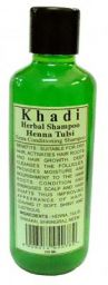 Khadi Natural Herbal Henna & Tulsi Shampoo 210ml