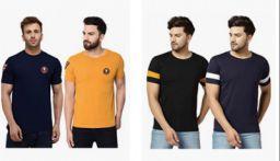 London Hills Mens T-Shirt Upto 88% Off
