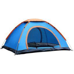 Camplite 4P Polyester Dome Tent (Multicolour)
