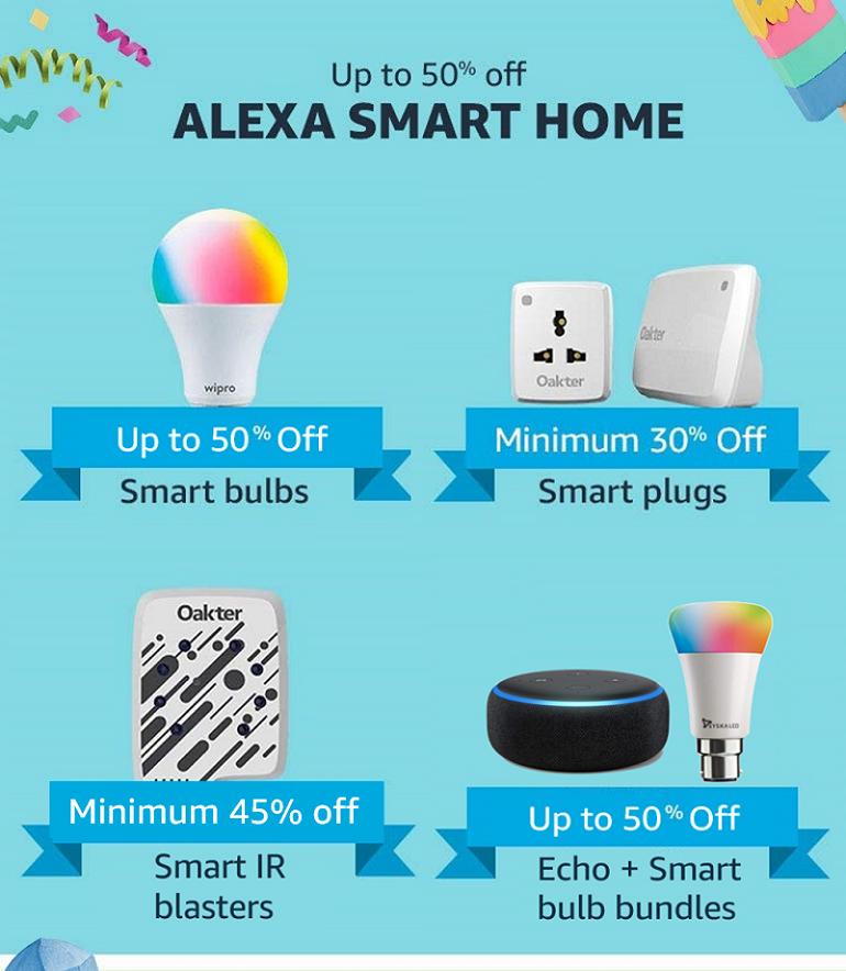 Alexa Smart Homes