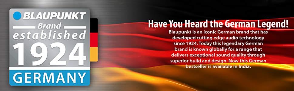 Blaupunkt SP-212 Bluetooth Home Audio Multimedia 2.1 Speaker company information