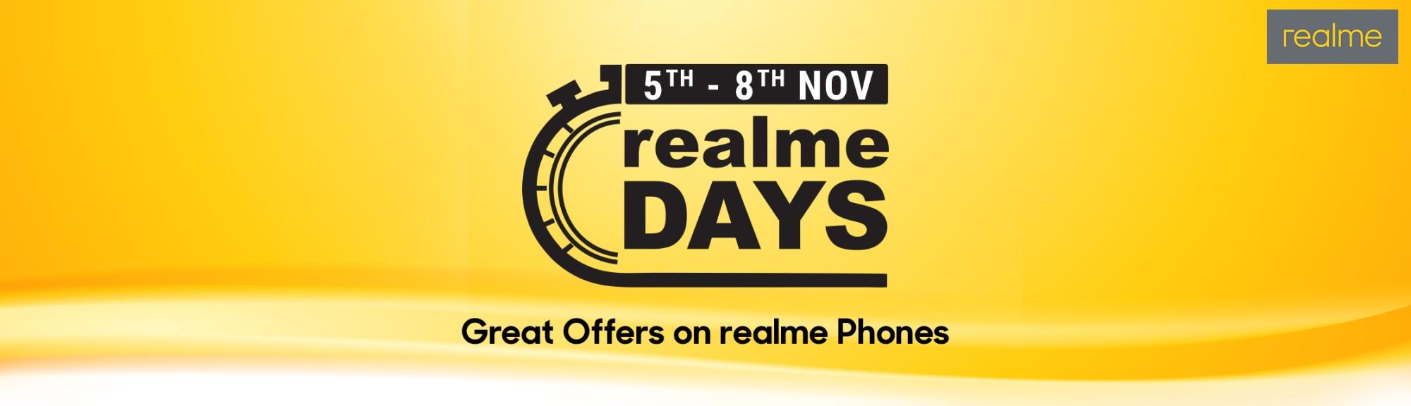 Flipkart Realme day's