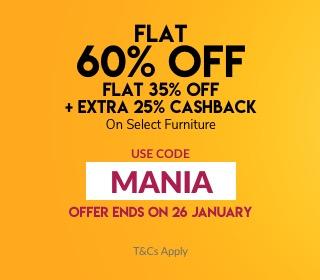 Pepperfry Makar Furniture Mania Sale banner 2