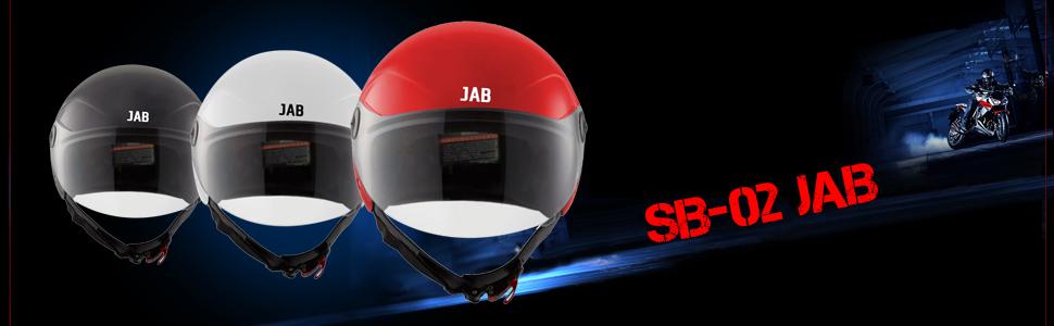 Steelbird SB-02 Classic Jab open Face Helmet