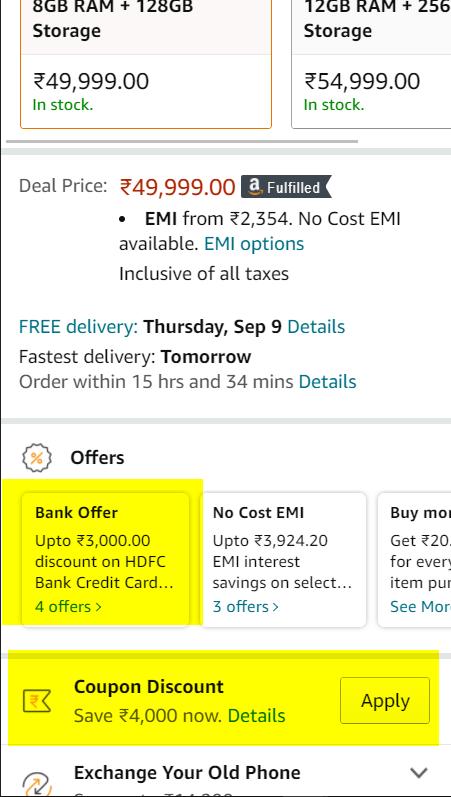 Oneplus 9 5G offer